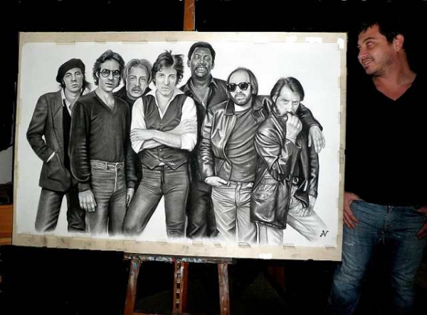 E Street Band, Bruce Springsteen by albertino